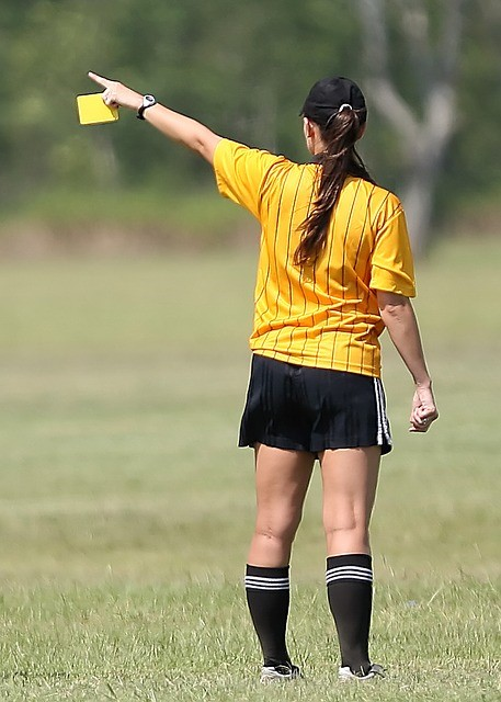 soccer rules - yellow card