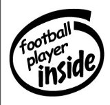 football player inside