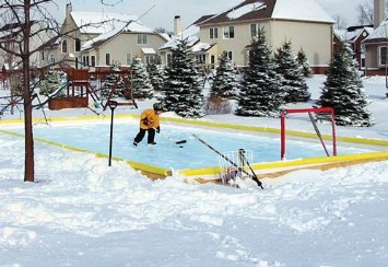 46 x 60 Premium Backyard Ice Rink Starter Kit