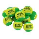 Gamma Quick Kids 78 Ball (12 Pack, Yellow/Green)