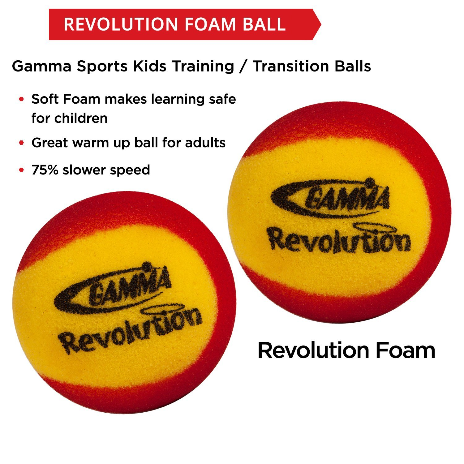 foam tennis ball
