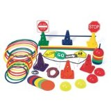 obstacle course activity set