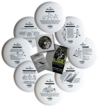 ultimate frisbee instruction kit