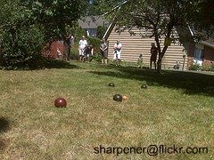 bocce game