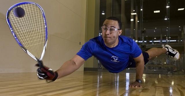 racquetball game