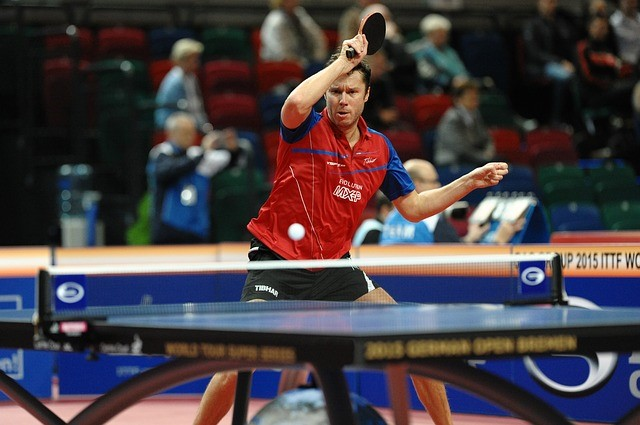 table tennis volley