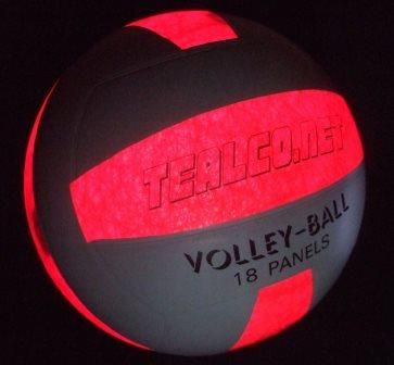 LED Lighted, Full-size, Glow in the Dark Light-up Volleyball